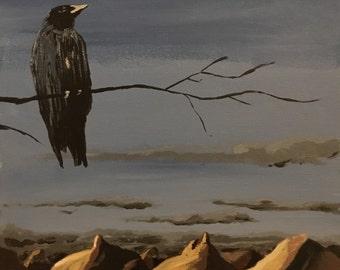 "Animal painting: ""Hunger"""