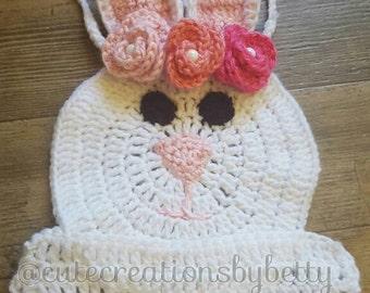 Crochet bunny top