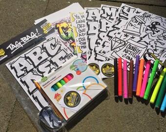 TagBag Graffiti starter pack