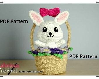 Crochet pattern Spring Bunny