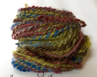 Hand Spun Art Yarn/Locks/Various Breeds-Boho