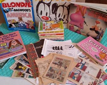 Ultimate 50 Piece Vintage/Modern Comic Ephemera Package