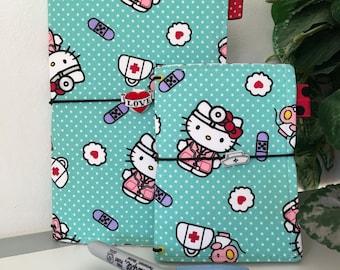 Hello Kitty Nurse/Doctor Traveler's Notebook