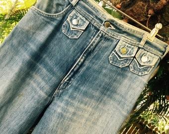 Vintage 70's bellbottom jeans