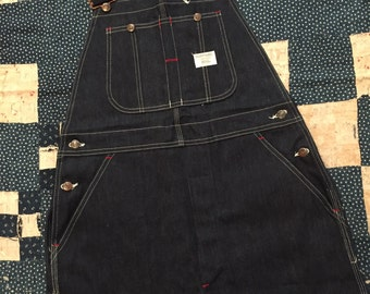 Deadstock 1970s JCPenney Big Mac Overalls Mens Size M/L Made In USA