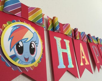 rainbow dash banner(name and age included !!)