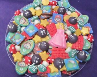 Super Mario chocolates chocolates  candy tray