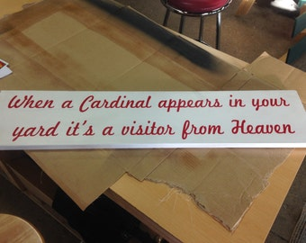 customized/personalized wood signs