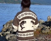 Cowichan Sweater ~ Authentic Coast Salish Native Knit