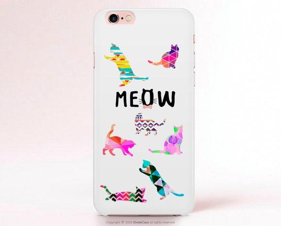 CAT iPhone 7 Case Cat iphone 7 Plus Case iPhone 6s case iPhone 6 Case Cats Samsung S7 case Cat LG G3 case Samsung S7 Edge case [116]
