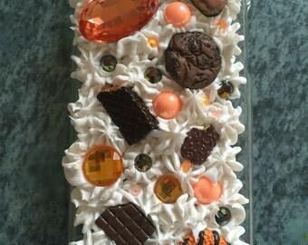 Chocolate Orange iPhone 6 Decoden Phone Case