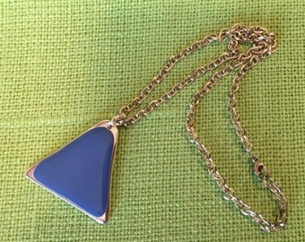 Brilliant in Blue Necklace