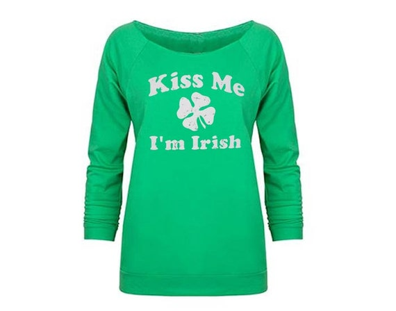 St Patrick's Shirts, St Patricks Day, Kiss Me I'm Irish, Green Sweatshirt, St Pattys Day, St Patricks Day Outfit, Funny Shirts, Irish Shirt