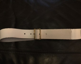 1960s leather belt