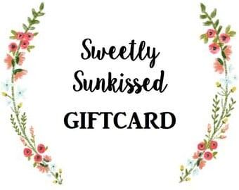 SweetlySunkissed Giftcard