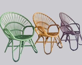 Rylie Round Rattan Chair