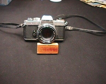 Vintage Japan Made Yashica Model FR Metal Body 35 mm Camera being sold in as-is condition