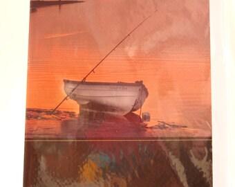 Boat Birthday Card
