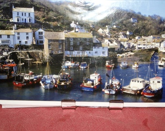 Waiting for the Tide Polperro Cornwall