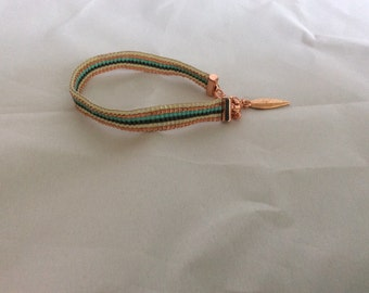 Miyuki delica bracelet.