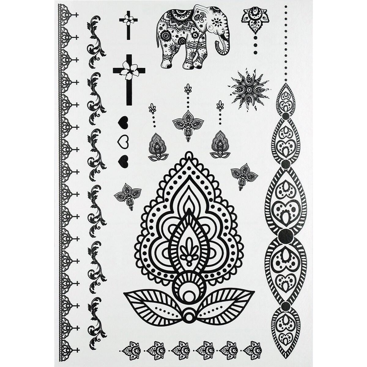 Dessin tatouage dentelle fashion designs - Tatouage manchette mandala ...