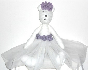 Girl Teddy Bear,bear,tilda bear,ballerina,ballerina bear,tutu