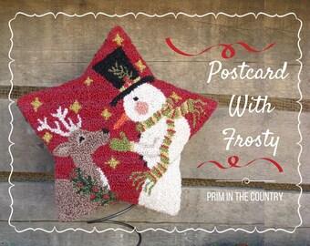 Postcard With Frosty