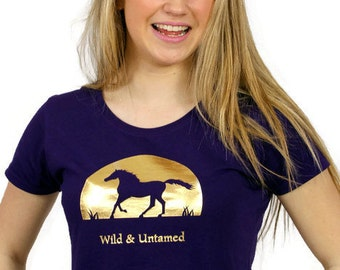 Horse T-Shirt - Wild and Untamed