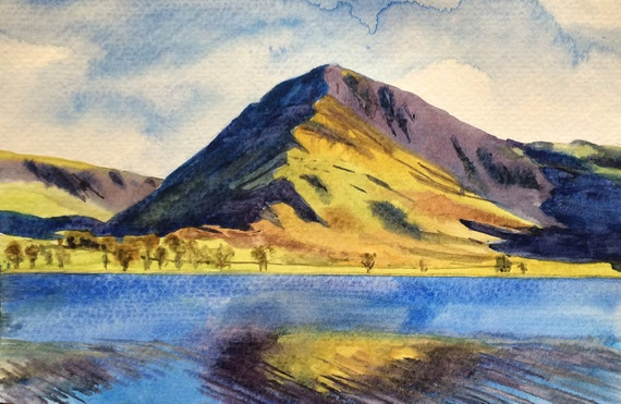 Lake District, Buttermere,  Pike, Buttermere, English Landscape, Buttermere Lake
