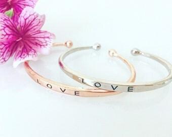 Cuff bracelet, Love bracelet, Arm bracelet, Bangle bracelet, Fashion bracelet