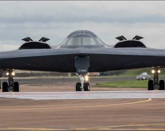 24x36 Poster . B-2A Spirit B-2 Stealth Bomber 509Th Bw 393Rd Bs