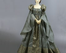 Steel Grey BJD Romantic/Medieval/Renaissance Outfit for 1/3 dolls, fits Soom, Iplehouse, Feeple, etc.