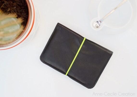 portefeuille porte monnaie cuir ado homme en cuir noir id e. Black Bedroom Furniture Sets. Home Design Ideas