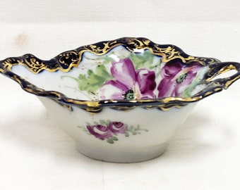 Continental porcelain bowl. Not marked
