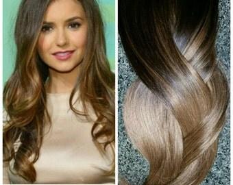Hair Extensions, Balayage Extensions, Balayage Sombre, Balayage, Remy Hair Clip-In Extensions 160 Grams, 260 grams hair, 9a hair