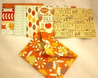 Handmade Envelopes - AUTUMN prints