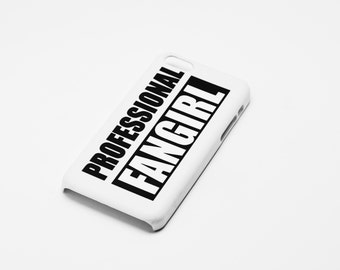 Professional Fangirl - Full printed case for iPhone - by HeartOnMyFingers - CMB-070