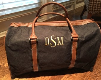 Personalized Duffle Bag - Monogrammed Overnight Bag - Duffle Bag for Men