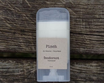 Unscented - All Natural Deodorant