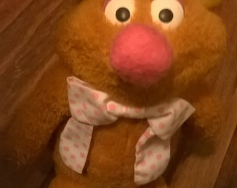 Fozzie Bear Muppet Doll - Jim Henson - 1976 - Fisher Price
