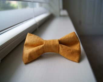 Mustard Colored Bow