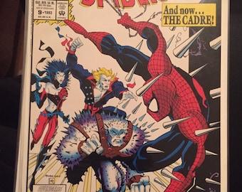 1993 Marvel Comics Web of Spiderman #9