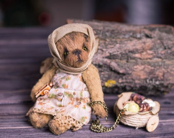 Bear Grunya - Teddy Bear OOAK