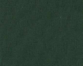 MODA - Bella Solids - Christmas Green - 9900-14 - Green - Solid Color