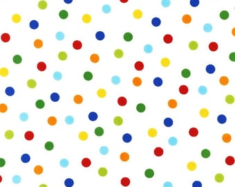 Robert Kauffman -Remix - AAK-12136-204 Primary - Ann Kelle - Green - Multi - Novelty - Dots - One More Yard