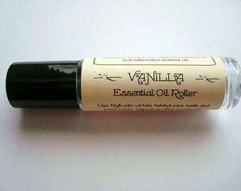 Vanilla Essential Oil, Vanilla Perfume, Vanilla Rollerbottle, Vanilla Oil, Pure Essential Oils