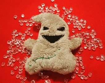 Stuffed Oogie Boogie doll