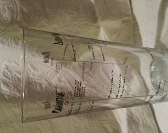Libby Dura Tuff Bartenders measuring mixing glass