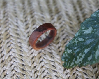 Hand Turned Wood Ring 8.5