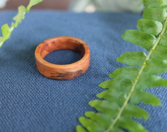 Hand Turned Wood Ring 10.5